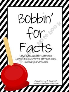 Bobbin' For Facts (Sums 10 to 18)