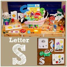 Home #Preschool Letter S
