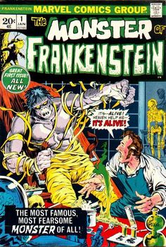 The Monster of Frankenstein #1 (1973)