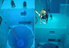 The Deepest pool...Brussels, Belgium