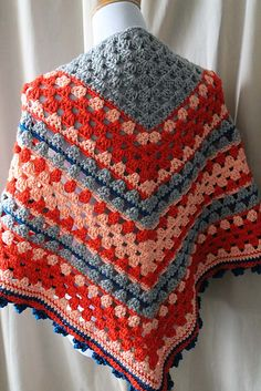 Ravelry: CorrineMB's Feisty Granny Gets a Shawl