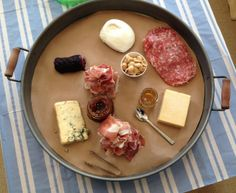 meat & cheese tray ideas