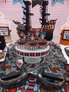 Pirate Party #pirateparty #decorations