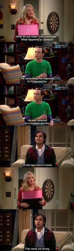 I love Big Bang Theory!