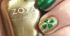 A St. Patrick's Day DIY Nail Art Tutorial That Anyone Can Do