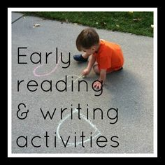 earli read, kindergarten reading, teaching reading, vpk activities, teach read
