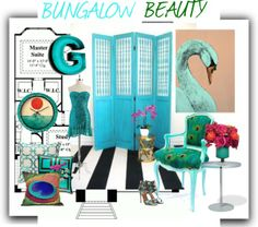 """""""Bungalow Beauty"""" by vervetandhowler on Polyvore"""