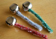 Simple Jingle Bell Christmas Craft #JingleBells #Preschool