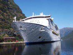 Adventure of the Seas in Flåm, Norway