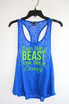 Train Like a BEAST Look Like a BEAUTY...I need this