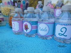 Bubble Guppies Printables from Swish Printables/Swish Designs.  Water bottle labels, invites, thank you cards and more.