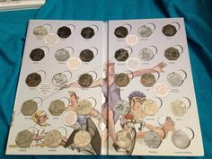 Steve Ashton ‏@SteveGSI  @RoyalMintUK #coinhunt this is what I have and need so far in this!