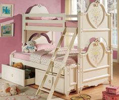 Mission Sss Loft Bed With Desk Combo By Bolton Furniture