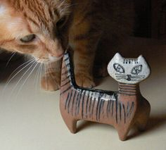 Lisa Larson Cat – Lilla Zoo collection  ( Keramikk Ceramics )