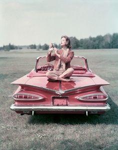 Pink '59 Chevy Impala