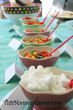 Ice cream toppings bar, doing this for my kids next birthday