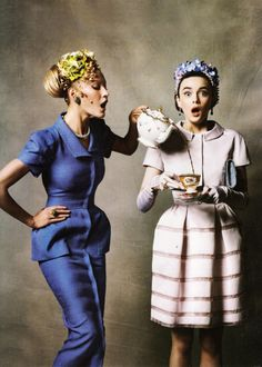 haute tea tea parti, tea time, tea for two, fashion, blue, dress, parties, teas, high tea