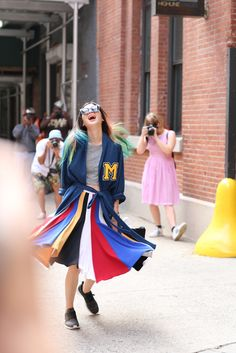 Spinning at New York Fashion Week #nyfw #streetstyle