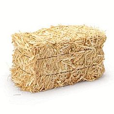 Mini Straw Bale - 2 1/2in.H x 5in.W x 2 1/2in.D