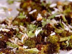 Parmesan-Roasted Broccoli Recipe : Ina Garten : Food Network - FoodNetwork.com