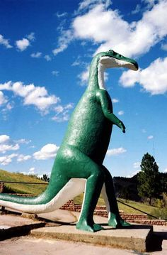 #Dinosaur Park.... The best of all the dinosaur roadside attractions. Rapid City, South Dakota  #Travel South Dakota USA multicityworldtravel.com We cover the world over 220 countries, 26 languages and 120 currencies Hotel and Flight deals.guarantee the best price