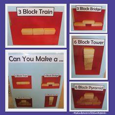 photographs, visual prompt, block area, block structur, preschool display, construct, the block, block center, preschool learning center