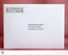 Custom Address Labels_by Kelly Wayment
