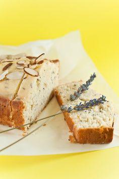 Meyer Lemon & Lavender Pound Cake