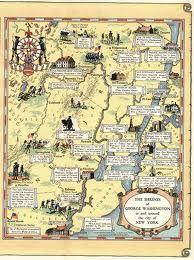 Monuments to George Washington Map