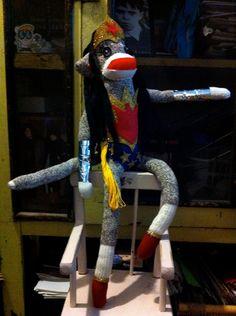Wonder Woman Sock Monkey (made to order) by POST STREET. $85.00, via Etsy.
