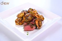 Clinton Kelly's Steak and Shrimp Duo recipe. #thechew