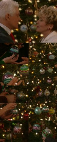 These are Christmas Ornaments From Days of our lives.