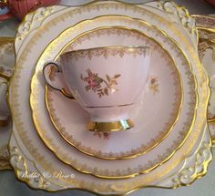 Teacup ~ Rabbit and Rose {Vintage Tea Hire Company}