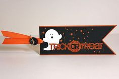 Trick Or Treat Tag by Heather Nichols for Papertrey Ink (August 2013)