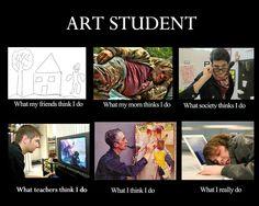 Art Student - meme