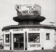 Drop in for hot coffee