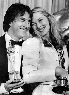 Dustin Hoffman and Meryl Streep
