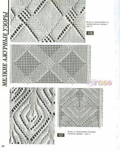 Crochet Stitches Library : crochet/knitting stitch library