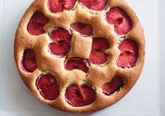 Ginger-Plum Sour Cream Cake | Vegetarian Times