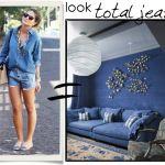jeans_total #assimeugosto #decor #interiores #decoração #homedecor  #lifestyle #inspiração #arquiteturadeinteriores #decorblog #decoration #tanamoda #moda #fashion