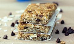 chewy granola bars - can be GF