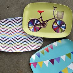 melamin, idea, fun plate, plates, color tray