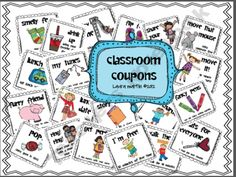 Classroom Coupons and Rewards