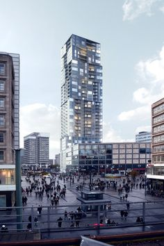 Barkow Leibinger Places Third in Berlin's Tallest Tower Competition