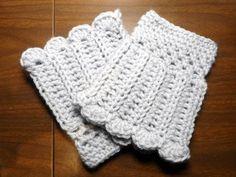 Free Crochet Boot Patterns   Crochet boot cuffs by aeshu1   Crocheting Pattern