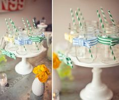 bow tie baby shower drinks