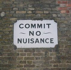 Commit No Nuisance.