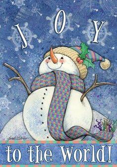 holiday, winter, christmas art, snowmen, joy, card, merri christma, christmas snowman, frosti