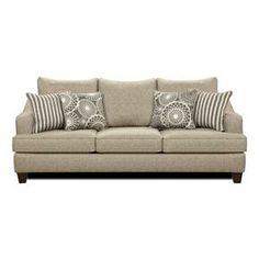 Nebraska Furniture Mart – Xenia Gray Contemporary Sofa