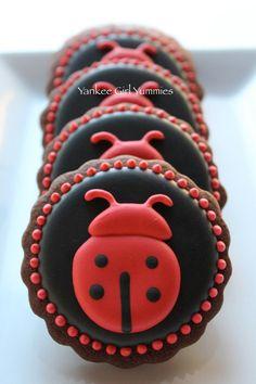 One Dozen Ladybug Cookies